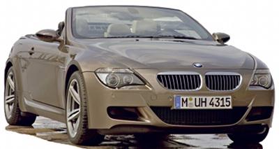 Présentation de la BMW M6 Cabriolet de 2007