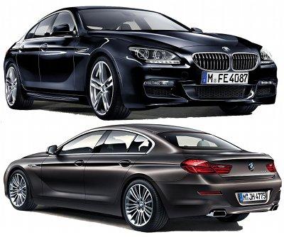 Présentation de la BMW Série 6 Gran Coupé de 2013.